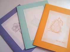 Thank you cards by Wcards
