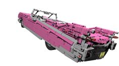My Lego Technic Cadillac in an unrealizable pink color!!!