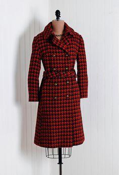Coat, 1960s, via Timeless Vixen Vintage