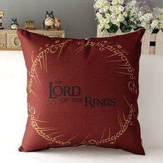 Lord Of The Rings Cushion Cover by QuirkyHomeUK on Etsy