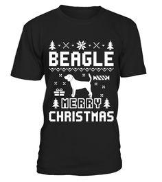 Beagle Ugly Christmas Sweater T shirt