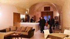 Salone comune del Residence del Casalnuovo a Matera. www.hotelcasalnuovo-matera.it