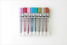 Metallic Color Pencil Lead Refill 8C Set