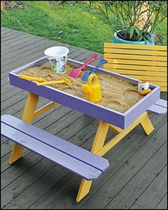 nice Want to give your kids a sandbox or a sandpit, but don't have room for it at hom... by http://www.best100-homedecorpictures.xyz/diy-home-decor/want-to-give-your-kids-a-sandbox-or-a-sandpit-but-dont-have-room-for-it-at-hom/