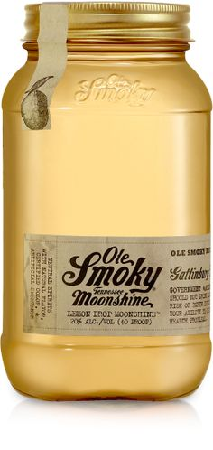 Lemon Drop Moonshine - Ole Smoky Moonshine Tennessee #moonshine #olesmoky