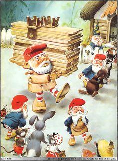 Gnomes, elves and fairies by Tony Wolf / Antonio Lupatelli #MinaVaan