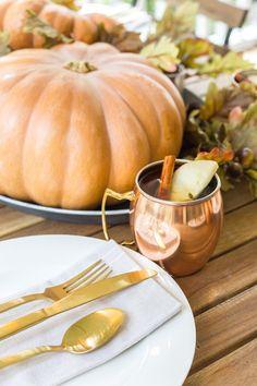 cozy copper tablesca