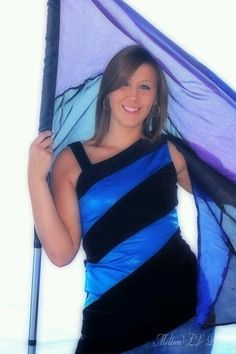 Cool for color guard senior pictures
