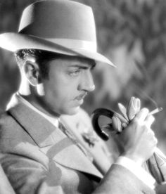 William Powell, the mans a drunk and a damn good detective.