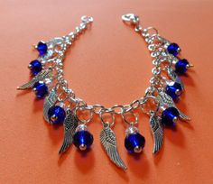 One Day I'll Fly Away Tibetan Silver Wing Charm by CircesCrafts