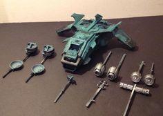 Eye of Error: Sons of Horus Fire Raptor Gunship WIP Update