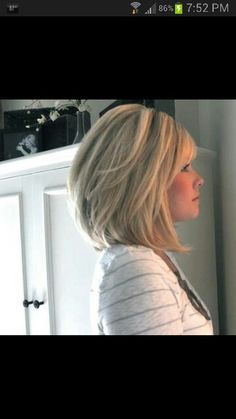 I could rock this!  Darker color though, maybe a little shorter.