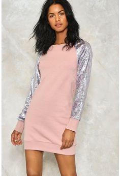 Take It or Sleeve It Sweater Dress