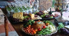 Gorgeous food display from indeeddecor.com.