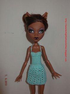 Ropa para muñecos - Ropa Monster High: v57 - hecho a mano por mamimonster en DaWanda