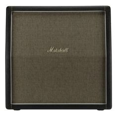 Marshall 1960AHW Handwired Angled Guitar Speaker Cabinet: Take part in the Marshall tonal tradition with this vintage-style angled cab. Four Celestion G12H-30 re-issue speakers sing with '70s-era hard rock attitude.
