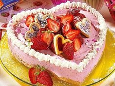 Wie wär's mit einer Torte in Herzform?