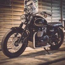Triumph Bonneville - Dandy Bonnie Moto Triumph, Triumph Tr3, Triumph Bikes, Triumph  Bonneville 887828f2347