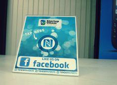 Facebook NFC like stand startupvillage.in