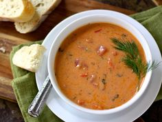 tomato bisque and other yummy fall soups