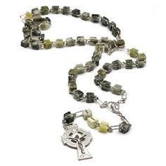 Genuine Connemara Marble Irish Rosary | The Catholic Company