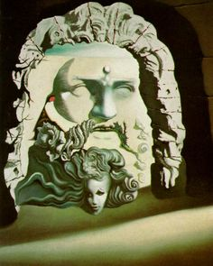 Double Image for 'Destino' - Salvador Dali #dali #paintings #art