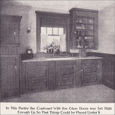 1911 Kitchen Pantry by American Vintage Home, via Flickr