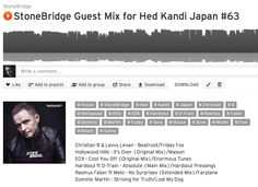 StoneBridge Guest Mix for Hed Kandi Japan #063 is up on #Soundcloud. A super soulful selection with new tracks from EDX, Hardsoul and many more https://soundcloud.com/stonebridge/stonebridge-guest-mix-for-60