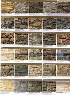 houses with dry stack stone exterior | ... travertine stone collection cultured dry stack stone collection