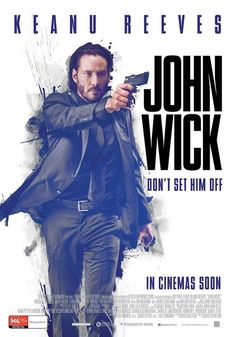 #JohnWick (2014) Official Poster #film