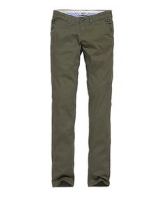 Look what I found on #zulily! Olive Skinny Jeans #zulilyfinds