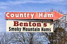 Tennessee's heavenly country ham - Benton's (via Cottage Days & Journeys)