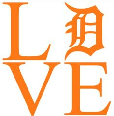 Detroit Tigers Car Decal by MelissasVinylDesigns on Etsy