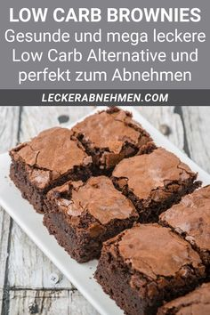 Low Carb Desserts, Healthy Dessert Recipes, Health Desserts, Savoury Baking, Healthy Baking, Law Carb, Holiday Cookie Recipes, Brownie Recipes, 100 Calories