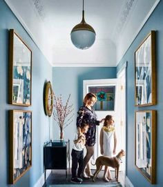 What a great colour - Dulux Blue Balm Dulux Paint Colours Blue, Wall Colours, Colour Schemes, Color Palettes, Vanity Design, Chic Bathrooms, Facade House, Paint Ideas, Colorful Interiors