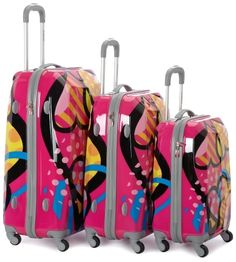 Rockland Luggage Vision Polycarbonate 3 Piece Luggage Set, Love, One Size Rockland,http://www.amazon.com/dp/B0046264CG/ref=cm_sw_r_pi_dp_uzVHrbB33C994D86