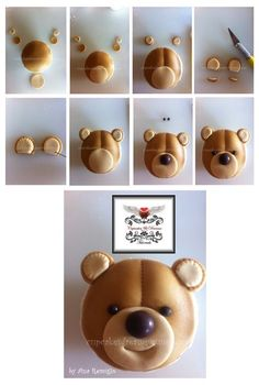 8 Diy Baby Shower Cupcakes 8 DIY Babyparty Cupcakes – DIY Gedanke Here comes child! Fondant Cupcakes, Bolo Fondant, Fondant Toppers, Cupcake Toppers, Cupcake Tutorial, Fondant Tutorial, Cupcake Cupcake, Teddy Bear Cupcakes, Decorated Cookies