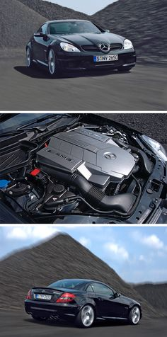 Birth of the Black Series. In 2006 Mercedes-AMG revealed the SLK 55 AMG as the first model to undergo the Black Series transformation. This distinction brought many race-inspired performance upgrades along with the coveted namesake.