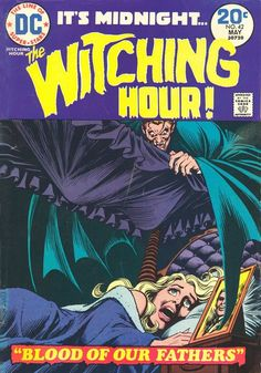 The Witching Hour Horror comic #42 (1974)