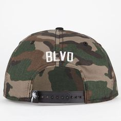 ded87816c43 BLVD SUPPLY The Block Mens Snapback Hat