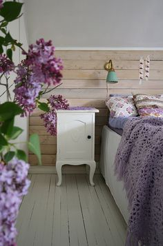country cottage - lilac bedroom this is like my dream bedroom!!!!