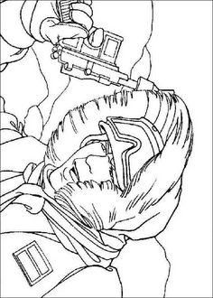 star wars 141 coloring page - Lego Princess Leia Coloring Pages