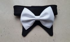 Dog Bow Tie Collar Cat Bow Tie Collar Pet Bowtie Collar by PinkBau