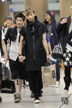 K-AIRPORT FASHION: Photo  Exo - Tao