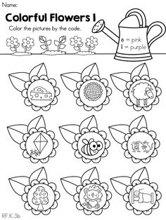 math worksheet : 1000 images about plant theme on pinterest  word families sight  : Flower Worksheets For Kindergarten