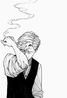I just want Carlos back... <<< YOU'RE NOT THE ONLY ONE *sobs* :O STOP IT!!! (I don't see Cecil as a smoker as I reckon he'd wanna keep his voice tip-top but I like the idea that he takes it up when Carlos is gone because nothing matters to him anymore)