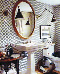 Twigs Fabrics & Wallpaper La Pomenade $75/roll 800.824.4204