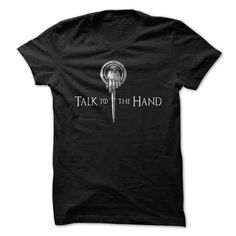 Talk to the Hand - #black sweatshirt #funny sweater. HURRY => https://www.sunfrog.com/Gamer/Talk-to-the-Hand.html?68278