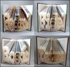 #foldingbookart #librosplegados #librosplisados #arteconlibros #recycled #reciclado #handmade #hechoamano #decoration #decoracion #diseño #design #ecodesign #ecodiseño #upcycled  elartedeowl.blogspot.com elartedeowl.tumblr.com