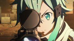 Anime,аниме,Anime Гифки,аниме гифка, аниме гифки, anime gif, anime gifs,Sword Art Online,SAO, ALO, ALfheim Online, GGO, Gun Gale Online, Alicization,Sinon,Shinon, Asada Shino